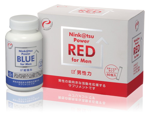 Nink@tsu Power RED for MEN Nink@tsu Pwer BLUE for MEN